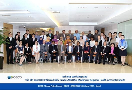 Technical Workshop and the 9th Joint OECD Korea Policy Centre-APNHAN Meeting of Regional Health Accounts Experts
