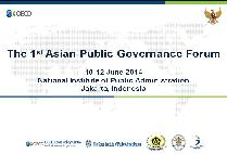 The 1st Asian Public Governance Forum on Public Innovation