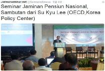 Seminar on the National Pension Schemes in Indonesia